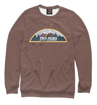 Одежда с принтом Twin Peaks Sheriff Department