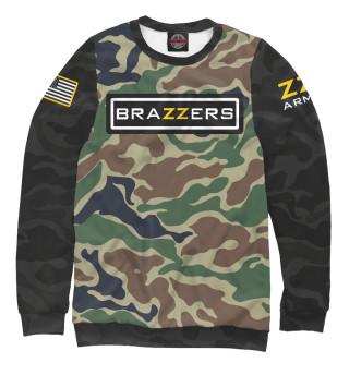 Одежда с принтом Brazzers Army