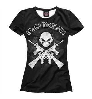 Футболка женская Iron Maiden (8321)
