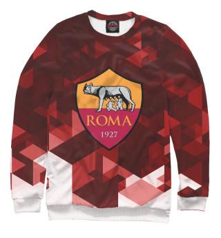 Одежда с принтом Roma FC Abstract