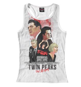 Майка борцовка женская Twin Peaks: The Return