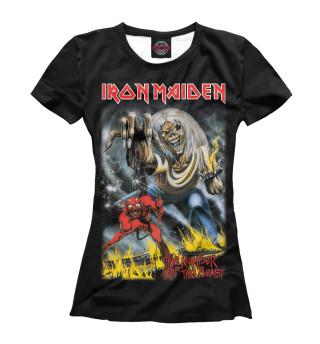 Футболка женская Iron Maiden (3422)