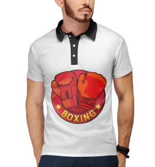 Поло мужское Boxing