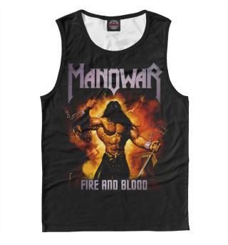 Майка мужская Manowar (2663)