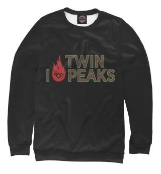 Одежда с принтом I Love Twin Peaks