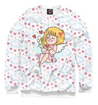 Одежда с принтом Девочка купидон (423147)