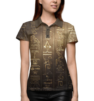 Поло женское Assassin's Creed Origins (2991)