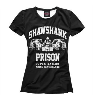 Футболка женская Shawshank Prison