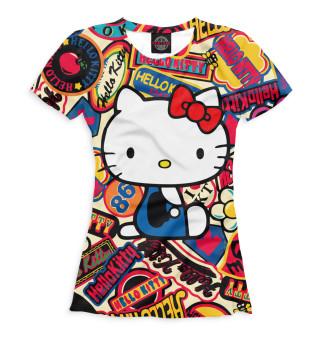 Футболка женская Hello Kitty (9571)