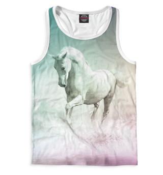 Майка борцовка мужская Лошадь (8464)