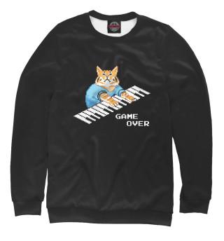 Одежда с принтом IT CROWD 8 bit cat