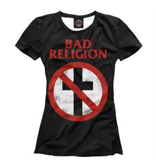 Футболка женская Bad Religion (8554)