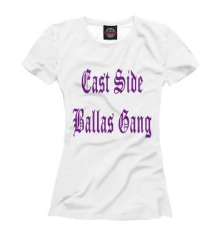 Футболка женская GTA SA. East Side Ballas Gang