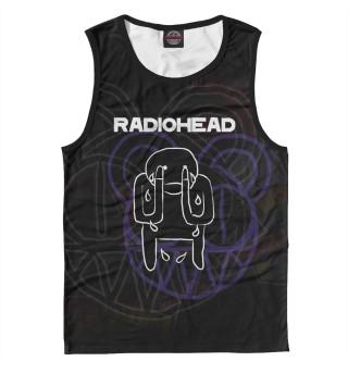 Майка мужская Radiohead (7591)