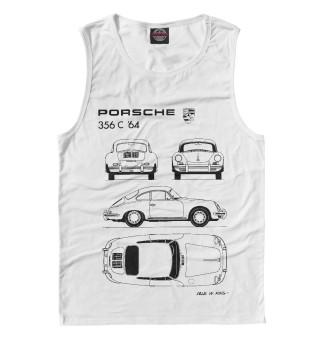 Майка мужская Porsche 356 C '64