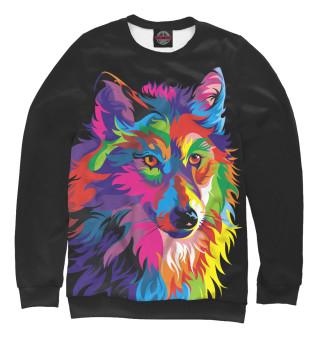 Одежда с принтом Волк (639774)