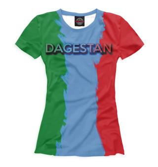 Футболка женская Дагестан (4620)