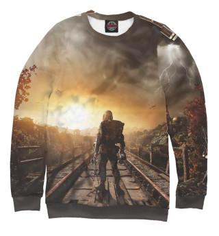 Одежда с принтом Metro 2033 постапокалипсис