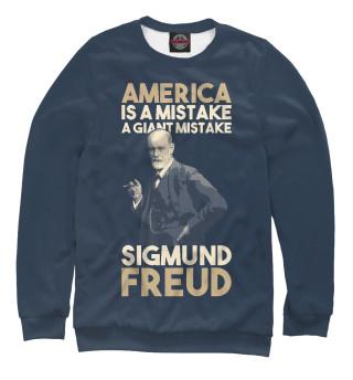 Одежда с принтом Америка это ошибка-большая ошибка!