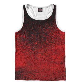 Майка борцовка мужская Кровавые краски