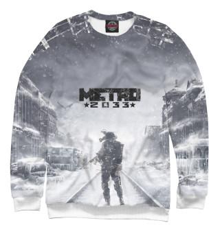 Одежда с принтом Metro 2033 winter