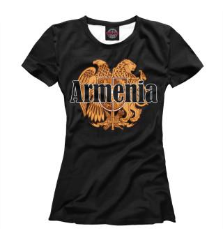 Футболка женская Armenia