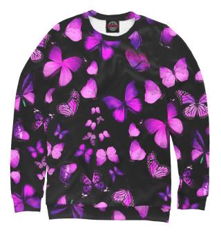 Одежда с принтом Модные бабочки