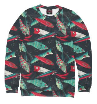 Одежда с принтом Рыболовные приманки