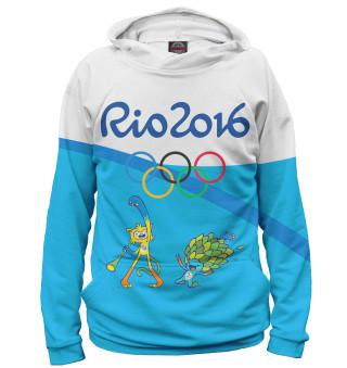 Худи мужское Олимпиада Рио-2016 (6852)