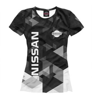 Футболка женская NISSAN (6696)