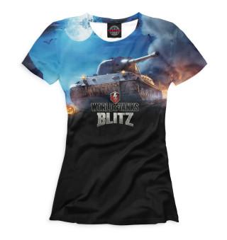Футболка женская World of Tanks Blitz (4942)