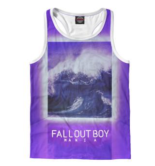 Майка борцовка мужская Fall Out Boy MANIA (7001)