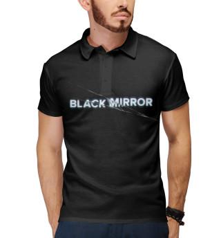 Поло мужское Black Mirror (4170)