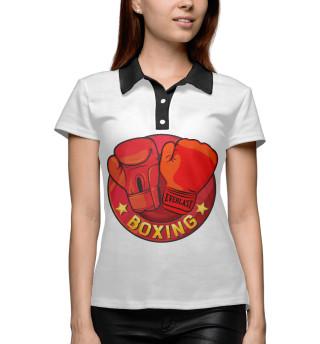 Поло женское Boxing