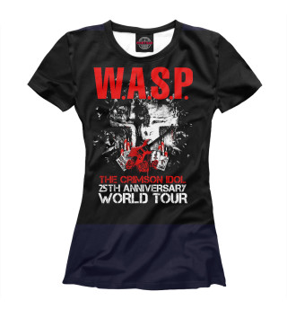 Футболка женская W.A.S.P. тур 2017