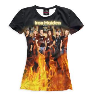 Футболка женская Iron Maiden (8648)