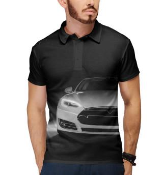 Поло мужское Tesla Model S