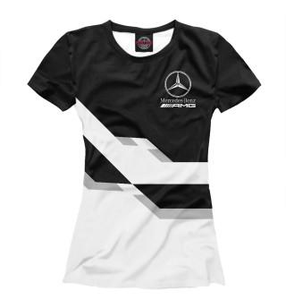 Футболка женская Mersedes-Benz AMG