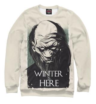 Свитшот  женский Winter Is Here