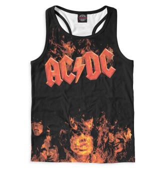 Майка борцовка мужская AC/DC (6655)