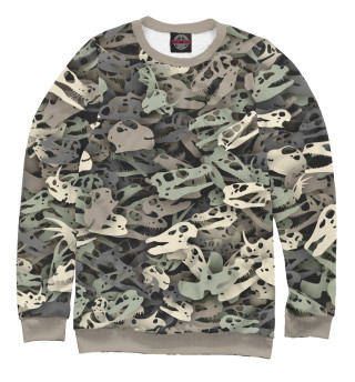 Одежда с принтом Камуфляж с динозаврами