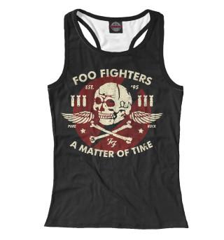Майка борцовка женская Foo Fighters (4579)