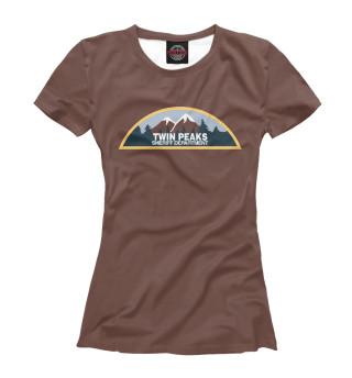 Футболка женская Twin Peaks Sheriff Department