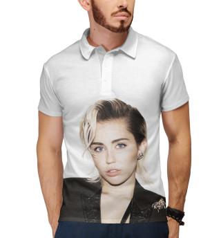 Поло мужское Miley Cyrus (9124)