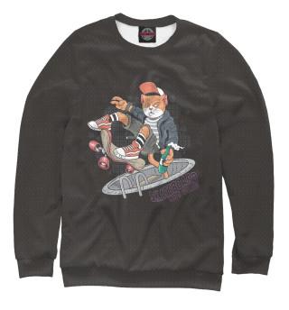 Одежда с принтом Котэ на скейте (153660)