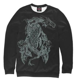 Одежда с принтом Дракон (130080)