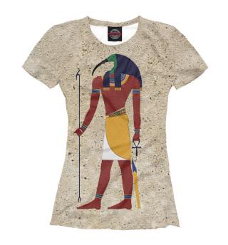 Футболка женская Бог Тот. Египет.