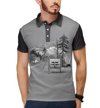 Поло мужское Twin Peaks