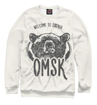 Одежда с принтом Омск (887581)