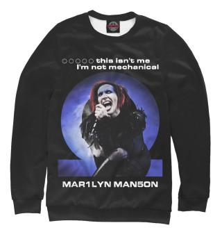 Одежда с принтом Marilyn Manson (113273)
